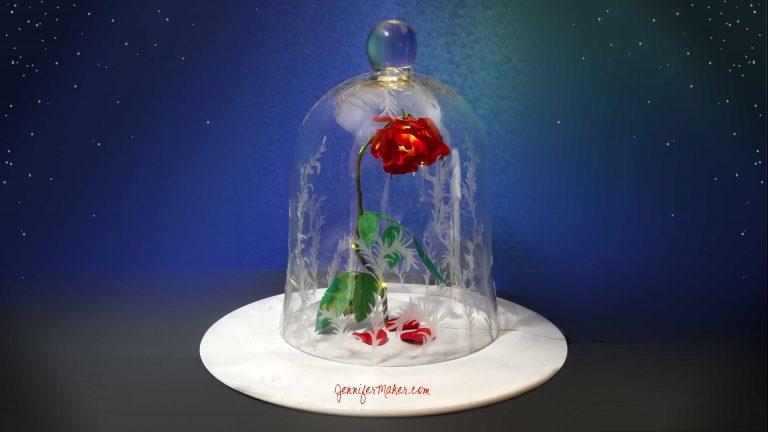 Rose & jar