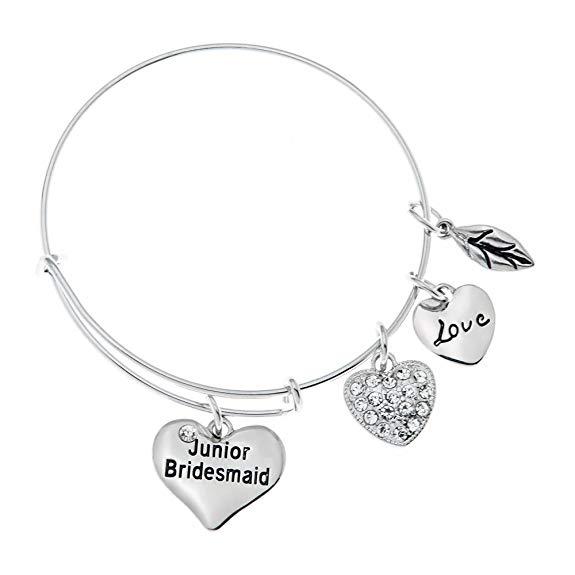 1. Junior Bridesmaid Gift Idea: Bracelet