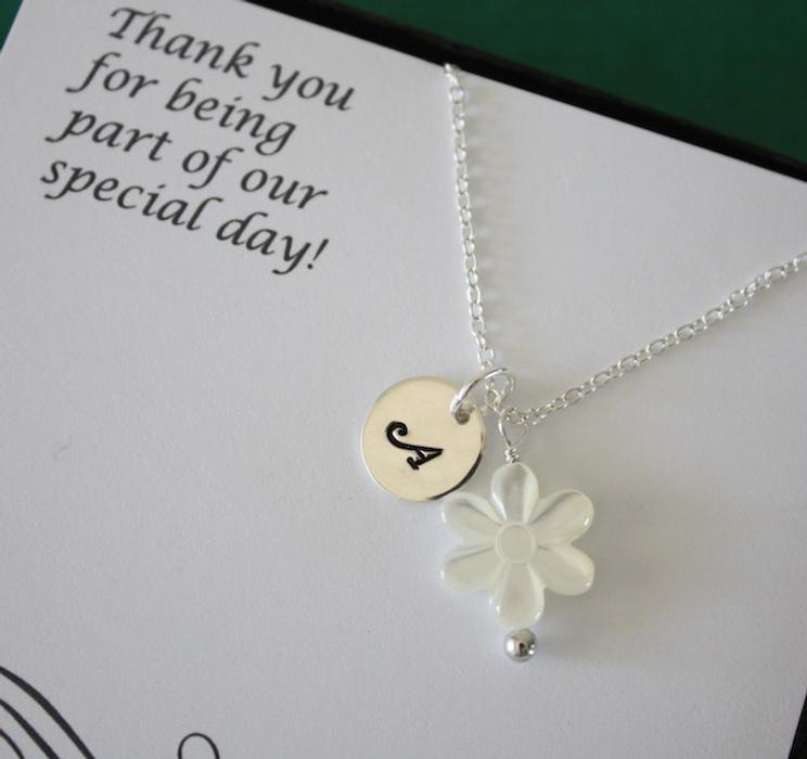 12. Junior Bridesmaid Gift Idea: Necklace