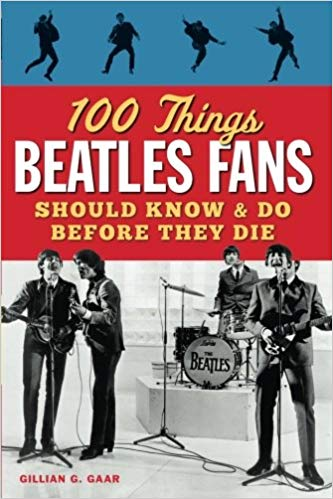 """#13 Beatles gift Book: """"100 Things Beatles Fans Should Know & Do Before They Die"""""""