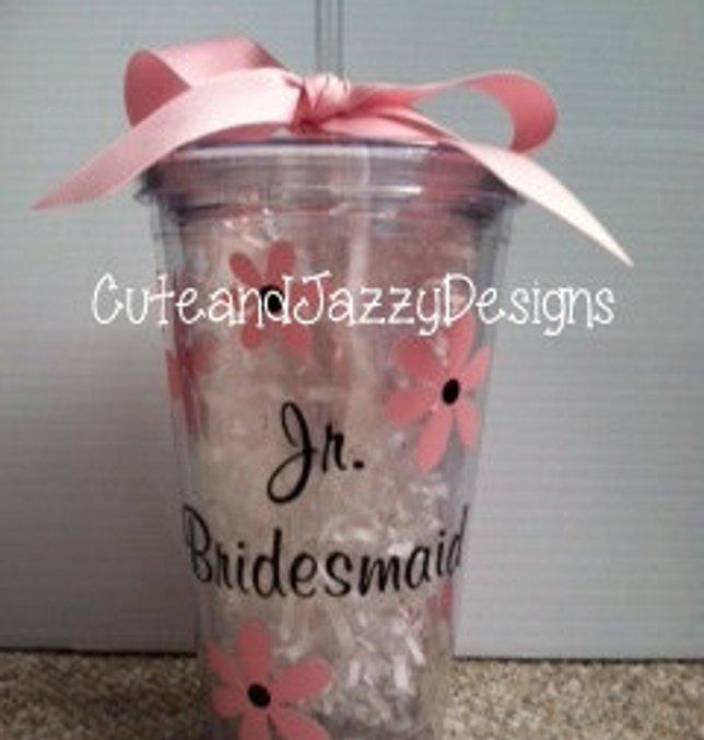 14. Junior Bridesmaid Gift Idea: Tumbler