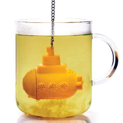 #15 Beatles gift Yellow Submarine Tea Infuser