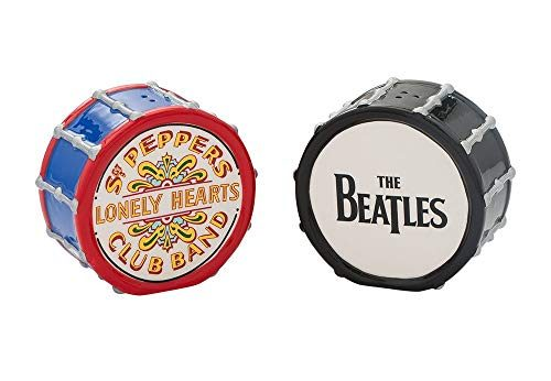 #16 Beatles gift The Beatles Drums Salt & Pepper Set