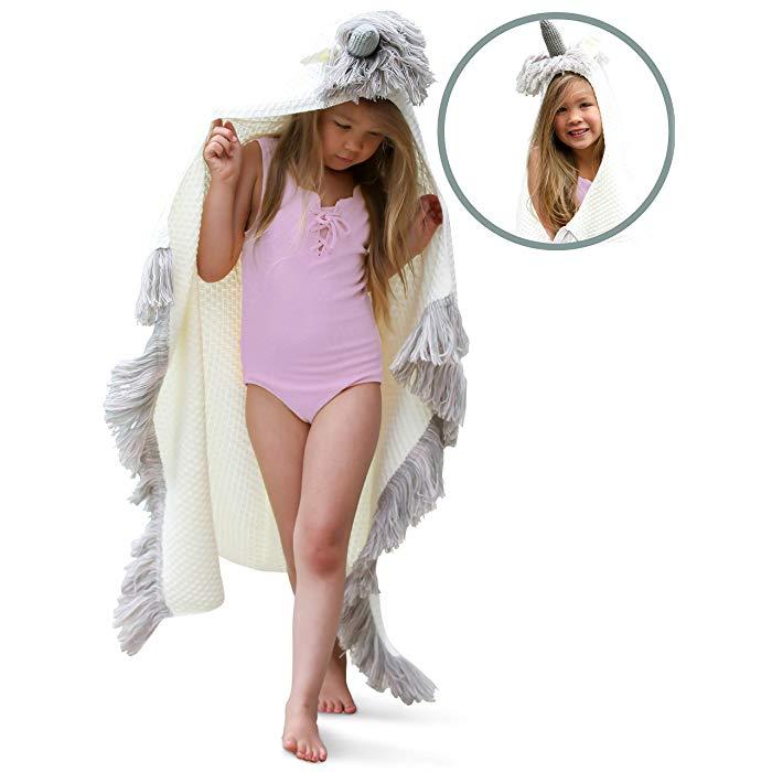 18. Junior Bridesmaid Gift Idea: Unicorn Blanket