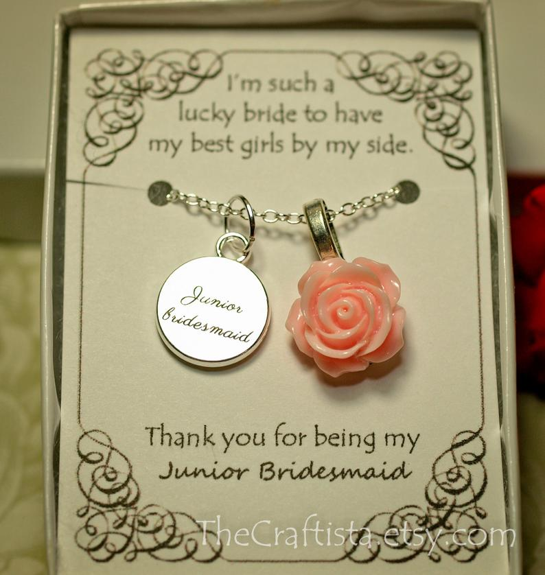 19. Junior Bridesmaid Gift Idea: Jewelry