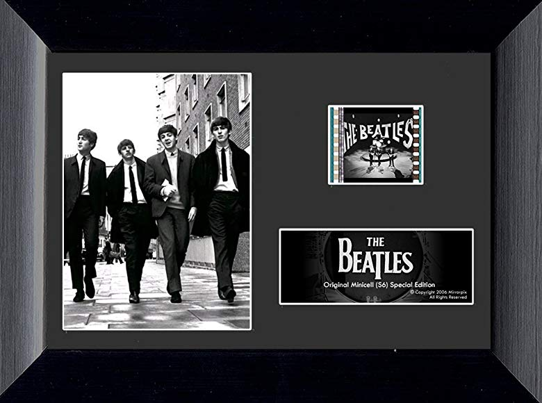 #2 Beatles gift The Beatles Minicell Film Cell