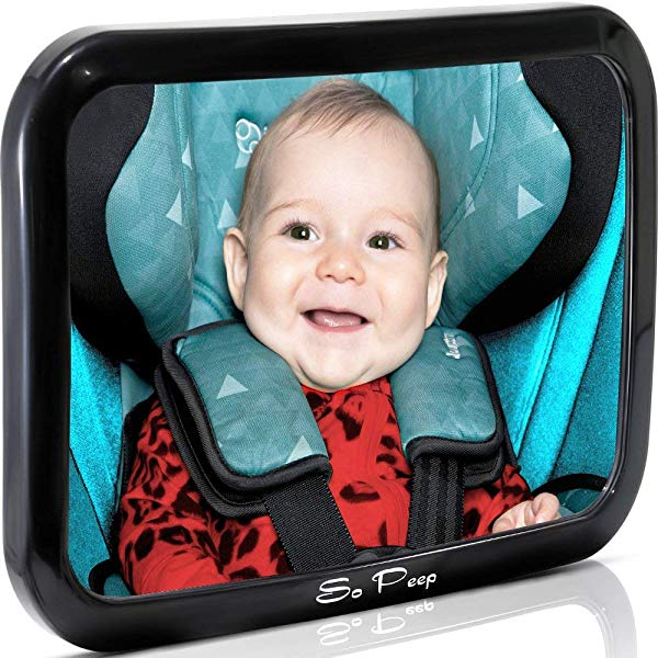 New father gift Baby Backseat Mirror for Car