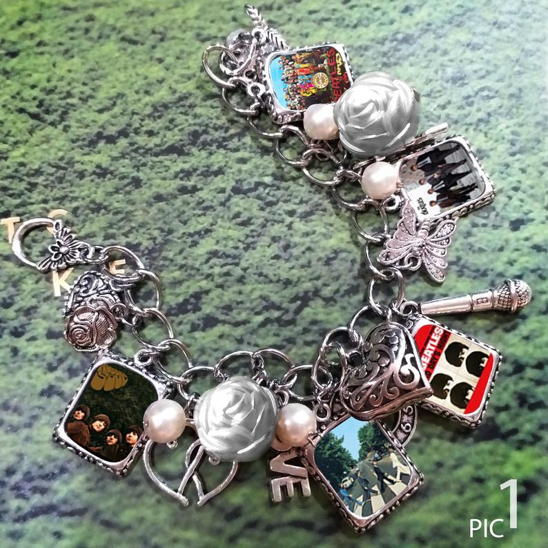 #6 Beatles gift Charm Bracelet