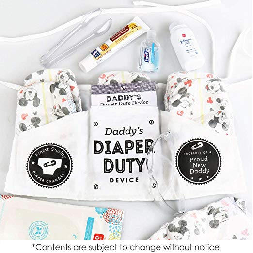 Gift ideas for new dads Daddy's Diaper Duty Device