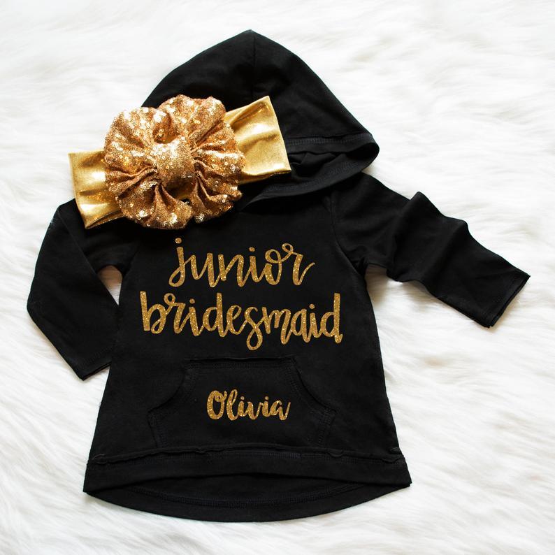 8. Junior Bridesmaid Gift Idea: Hoodie