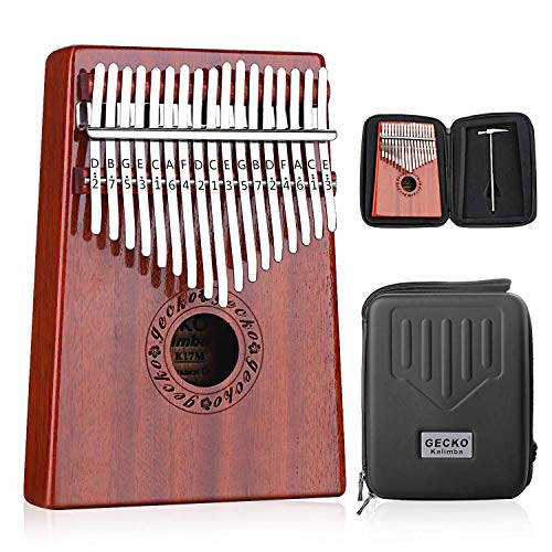 8th grade graduation gift idea Kalimbo 17 Keys Thumb Piano and Case