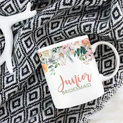 9. Junior Bridesmaid Gift Idea: Mug