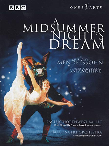 A Midsummer Night's Dream perfect movie to give as a gift to ballet dancers