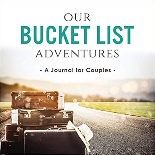 Anniversary gifts for girlfriend A couple's adventure journal