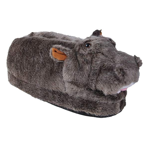 Hippo themed gifts Animal Slippers
