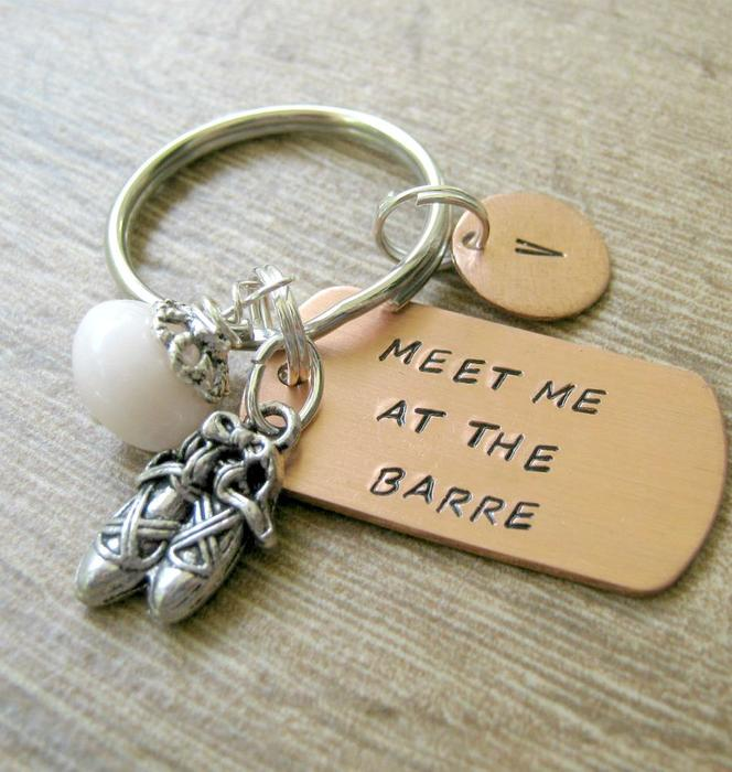 Ballet themed gift Keychain