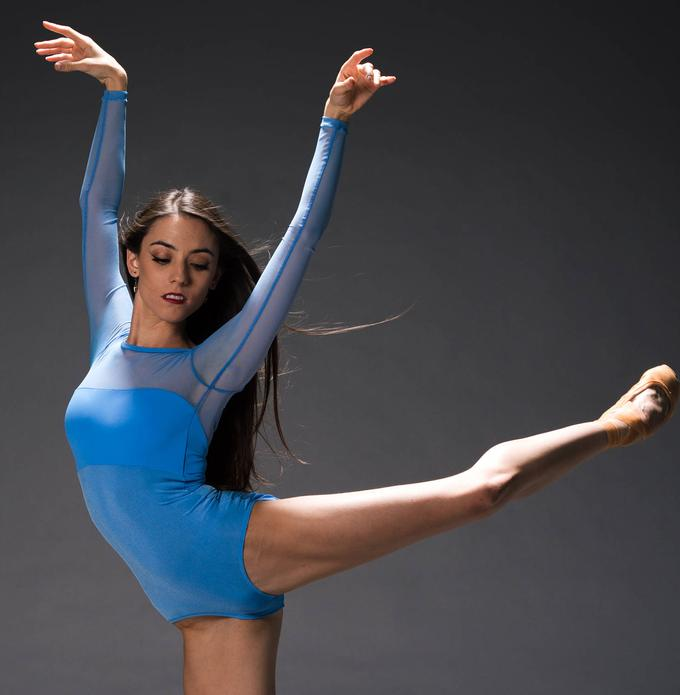 Ballet dancers good gift idea: Barreto Dancewear Ombre Custom Leotard