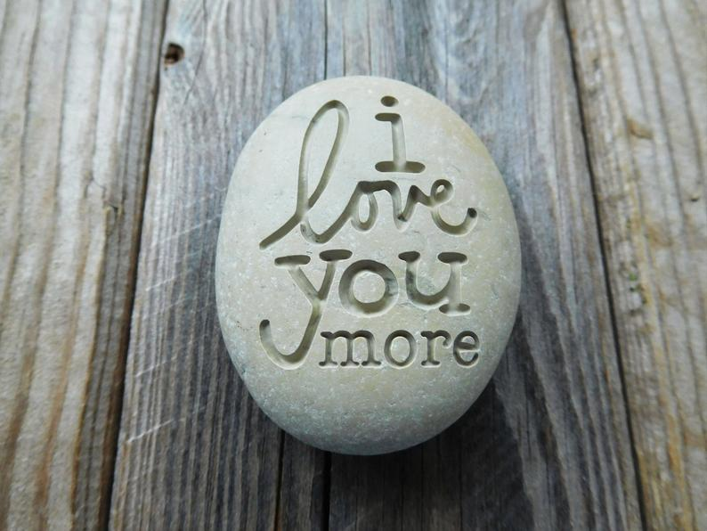 Engraved stones - Personalized gift