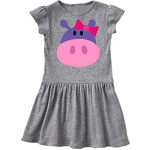 Great Hippopotamus Gifts Dress for little girls