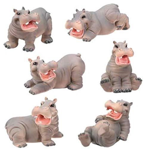 Hippo themed baby shower gift hippopotamus Collectible Figurine