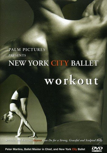 Useful gift for a ballerina DVD New York City Ballet - Workout