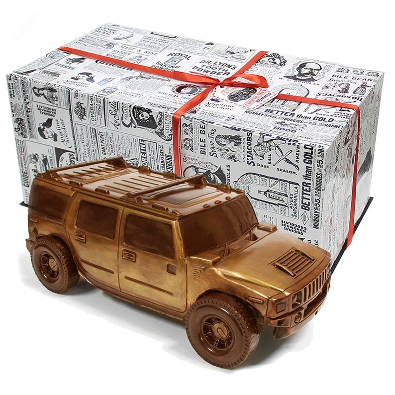 New driver gifts Chocolate car