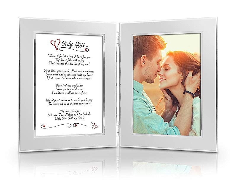 Anniversary gifts for girlfriend Poetic Picture Frame
