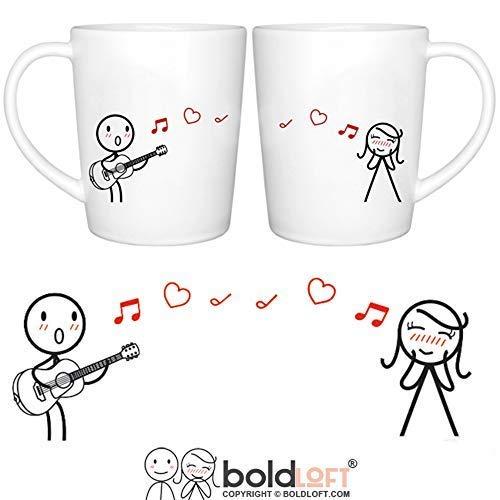 Anniversary gifts for girlfriend Romantic Coffee Mug Set