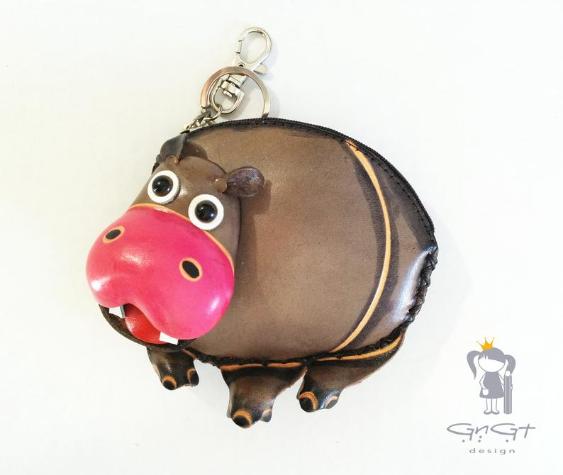 The Most FUN Hippo wallet