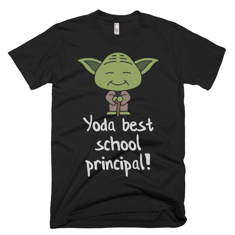 Yoda Best School Principal Shirt