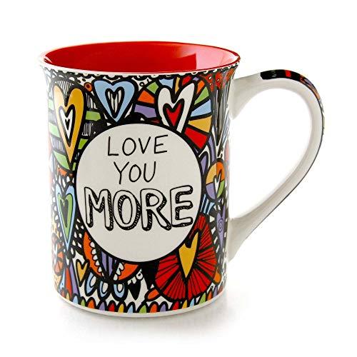 Love you more gift items: Romantic Coffee Mug