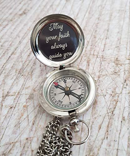 Compass gift for neighbor moving