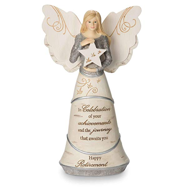 Happy Retirement Angel Figurine, meaningful way to send nurses of in pension