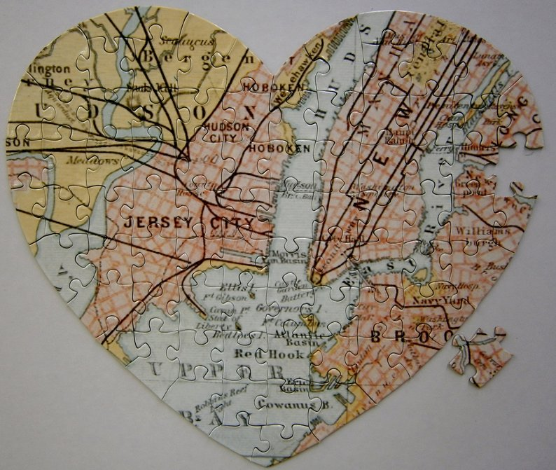 Hometown Jigsaw Puzzle one of greatest goodbye gifts for neighbors when they moving away
