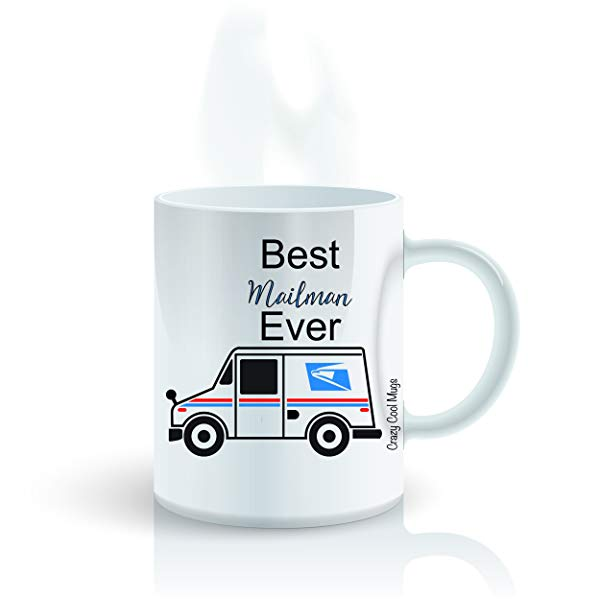 Mailman Gifts 1. Best Mailman Ever Coffee Mug