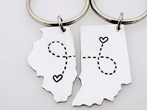 Moving out of state gift idea 4. Key Chains