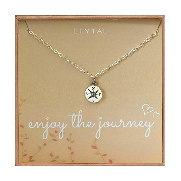 Moving out of state gift idea 5. Journey Necklace