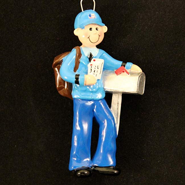 Personalized Mailman Christmas Holiday Gift