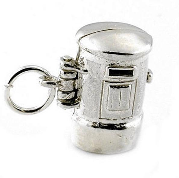 Post Box Charm cute little Postman gift for Christmas
