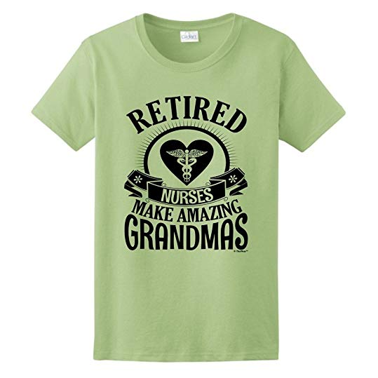 If you are looking gift for retiring nurse who is your grandma, this shirt is the best gift idea