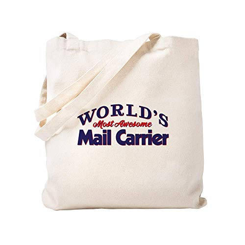 World's Most Awesome Mail Carrier Canvas Tote Bag