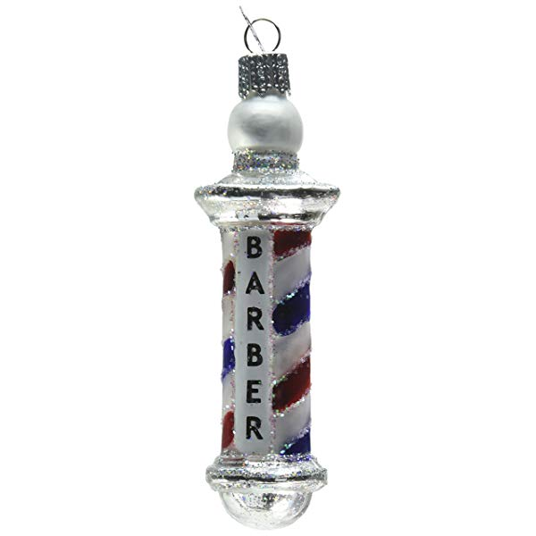 Barber pole ornament great little Christmas gift for your barber