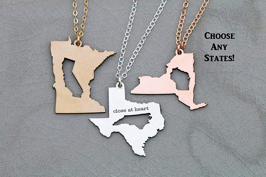 Moving out of state gift idea 1. Necklace