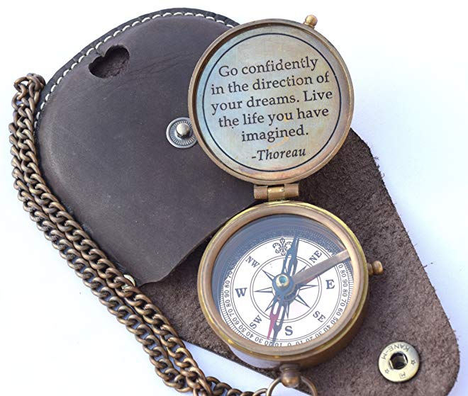 Moving out of state gift idea 3. Compass