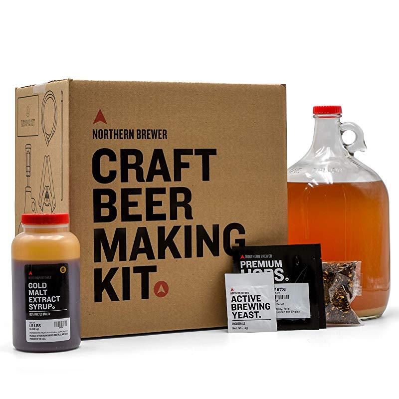Cool Cheer up gift idea for him Beer Making Starter Kit