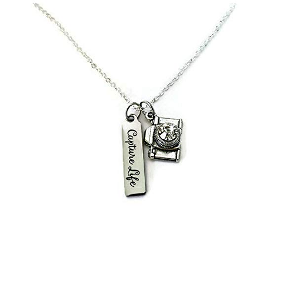 CaptureLife Necklace thank you gift for a wedding photographer