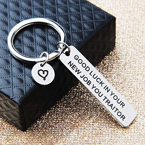 Keychain Good Luck in Your New Job