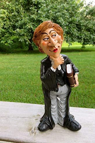 Female Lawyer Judge Figurine
