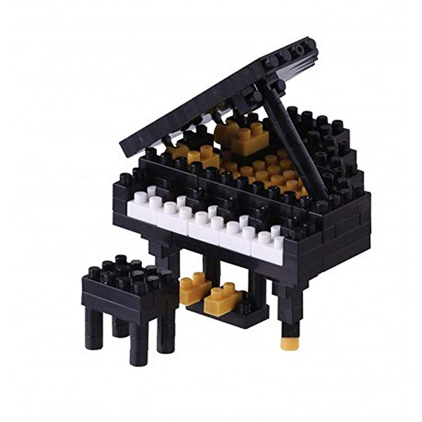 Boy Piano recital gift: Grand Piano building bricks