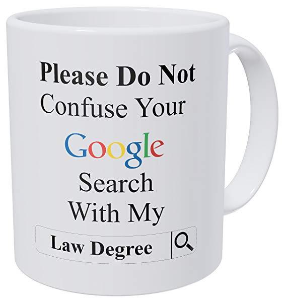 Law Degree Coffee Mug
